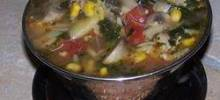 chicken and artichoke minestrone