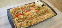chicken and quinoa paella