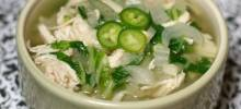 Chicken Bok Choy Soup