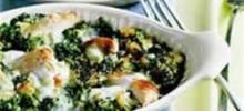 Chicken-Spinach Casserole