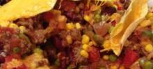 Chili Beef Casserole