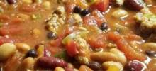 Chili With Turkey and Beans