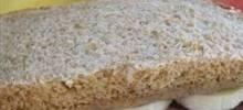 chocolate almond sandwich