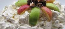 chocolate caramel nut salad
