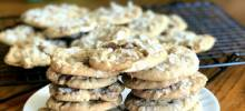 chocolate marshmallow melt cookies