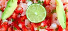 "clamato® shrimp ""ceviche"" style"