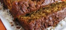 Coconut Pumpkin Nut Bread