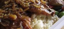 Cola Onion Pork Chops