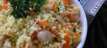 Couscous with Chickpeas and Carrots