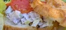 crab croissants