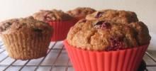 cran bran muffins