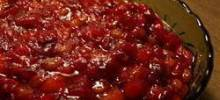 Cranberry Sauce with Apricots, Raisins, and Orange