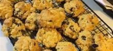 cream cheese cookies v