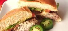 Cream Cheese Jalapeno Hamburgers