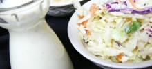 creamy coleslaw dressing