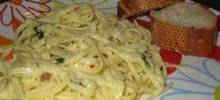 Creamy Linguini for Two