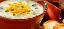 Creamy Poblano Potato Soup