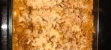 Creamy Pumpkin Pasta Bake