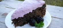 crisp evenings blackberry cake