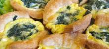 croissant mini quiche