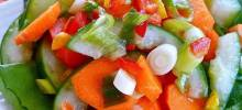 cucumber-carrot salad