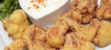 Deep-Fried Cauliflower and Lemon Sauce