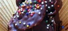 delicious chocolate cornflake cakes