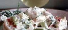 Dill and Shrimp Salad