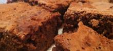 double batch caramel brownies