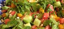 easy salad dressing with white balsamic vinegar and mustard