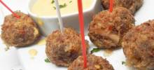 Easy Sauerkraut and Sausage Balls