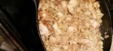 Easy Skillet Chicken & Riced Cauliflower