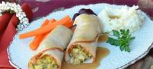 Easy Turkey Stuffing Roll-Ups