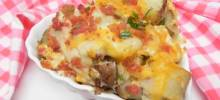 easy twice-baked potato casserole