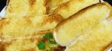 Emergency Garlic Bread