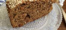 fanouropita (vegan greek raisin, walnut, and olive oil cake)