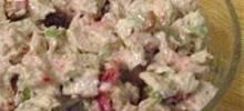Festive Fall Turkey Salad