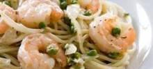 Feta Shrimp Pasta