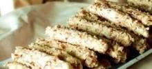 finnish cookie sticks