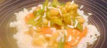 five-veggie stir-fry