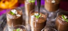 french chocolate mousse with orange