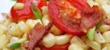 Fresh Corn and Tomato Casserole