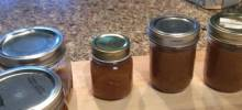 Fresh Spiced Peach Jam