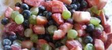 fruit salad in seconds