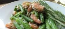 Garlic Lover's Shrimp and Green Bean Salad