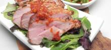 garlic-tamarind pork loin