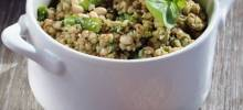 Gluten-Free Buckwheat, Asparagus, and Pesto Salad