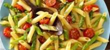 Gluten Free Penne with Sauteed Veggies