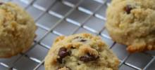 grain-free, kid-approved chocolate chip cookies