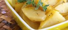 Greek-Style Lemon Roasted Potatoes